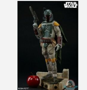 Star Wars Boba Fett Premium Format Figure Sideshow Collectibles 300515