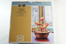 Hampton Bay Leaf Table Top Fountain Indoor Decorative NEW, Free 2-3 Day Shipping