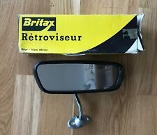 NOS Britax rear view mirror. Mini, MG, Jaguar, Rover, Rolls Royce