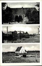 BARDOWICK Mehrbild-AK Schleuse Jlmenau-Brücke um 1940 alte AK Niedersachsen