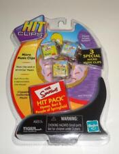 Tiger Hit Clips 3 Pack The Simpsons Homer Bart Micro Music Micro-mixes 2002