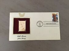 Folk Heroes John Henry Gold Replica Stamp Cover First Issue July 11 1996 Sealed