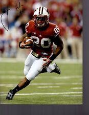 James White Wisconsin Badgers Signed 8X10 Photo W/Coa #1