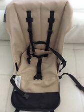 Bugaboo Cameleon Stroller Canvas Seat Fabric Sand Beige 5 point harness tan frog