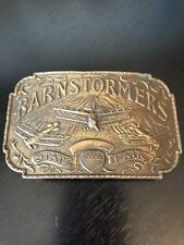 Barnstormers State Fair Belt Buckle Lewis Buckles Chicago Bi Planes Airplanes
