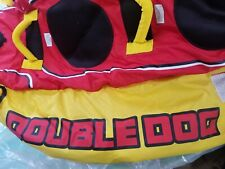 Airhead Hd-2 Double Dog 2 Rider Towable - Red/Yellow