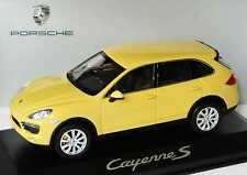 1:43 Porsche Cayenne S 2010 sandgelb gelb yellow - Dealer-Edition - Minichamps