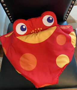 Fisher Price Rainforest Jumperoo Red Frog Fabric Seat Cover Pad Replacement Part