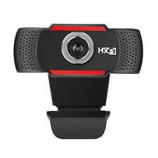 New HD 12 30 MP Auto USB 2.0 Clip-on Webcam Camera MIC for Skype PC Android TV