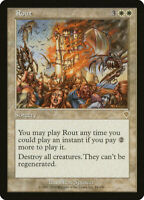 1X FOIL Rout MTG Magic the Gathering INVASION 34/350