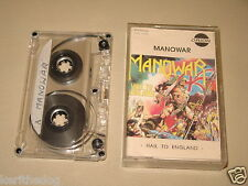 MANOWAR - Hail To England - MC Cassette un/official polsh tape 1984/1008