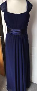Ever Pretty Size 16 Long Blue Bridesmaid/Prom Dress