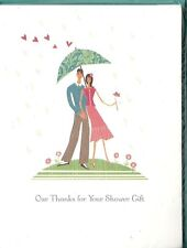 Our Thanks for Your Shower Gift! Thank You Cards 10 Count with Envelopes