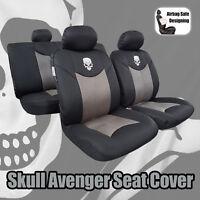 Skull Car Seat Covers For Toyota Trd Tacoma 4Runner Rav4 Camry Corolla