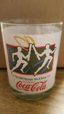 1996 Olympic torch relay presented by Coca-Cola  glass