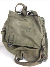 New listing Vintage United States Us Military Satchel Field Bag Pack