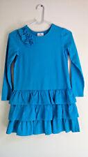 Super nice- HANNA ANDERSSON - Girls longsleeve dress - blue - Sz 130 8 years