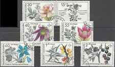 Timbres Flore Bulgarie 3418/23 o lot 5038