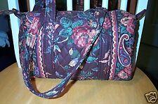 Vera Bradley Retired Rare Wildwood Classic Handbag #3