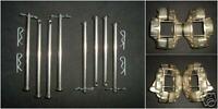 BRAKE CALIPER STAINLESS PINS MK1 MK2 ESCORT PRINCESS 4 POT M16 CAPRI 2.8 280 2.0