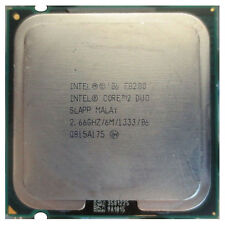 Intel® Core™2 Duo Processor E8200 (6M Cache, 2.66 GHz, 1333 MHz FSB)