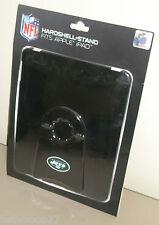 New York Jets Football Black White Green Hardshell Case w/ Stand for Apple IPad