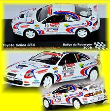 Toyota Celica GT4 Rallye du Rouerque 2008 #10 P. Rouillard / G. Turkheim 1:43