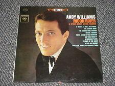 ANDY WILLIAMS - MOON RIVER… - OOP 1962 CS-8609 (S) - LP - NM VG