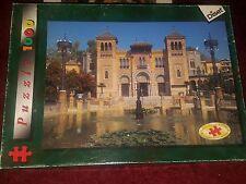 "Diset ""Plaza de España, Seville""  1000+ piece 29"" x 20"" jigsaw puzzle 1998"
