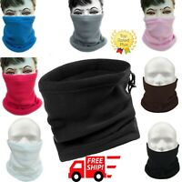 Winter Neck Warmer Gaiter Polar Fleece Ski Face Mask Snowboard Cold Weather US
