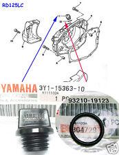 Yamaha RD125LC RZ125 RD125YPVS Oil Plug + O Ring NOS DT125LC Dip Stick + Seal
