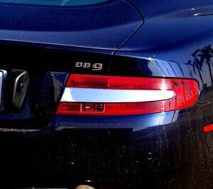 IDFR Aston Martin 2004~on DB9 Chrome cover bezel for tail light inner black bar