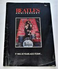 Beatles Anniversary It Was Twenty Years Ago Today 1982 Fan Magazine UK Import