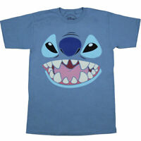 Disney Lilo and Stitch Face Adult T-Shirt