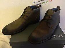 ECCO Men's Biarritz Boots Mid cut lace Camel US 9-9.5 63001402034 NEW! $250.00