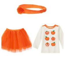 NWT 3pc Gymboree Happy Harvest Pumkin Shirt and Tutu Size 2T Fall