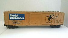 WEAVER ~ O GAUGE ~  MODEL RAILROADER BOXCAR ~ 50 YR.ANNIVERSARY  1934-1984