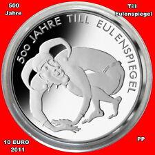 Till Eulenspiegel In 10 Euro Gedenkmünzen Der Brd Günstig Kaufen Ebay