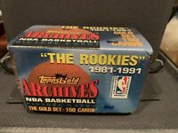 1992 Topps GOLD ARCHIVES THE ROOKIES Factory Sealed Set MICHAEL JORDAN SHAQ HOT