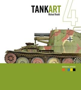 Rinaldi Studio Press Tankart #4 German Armor 2nd Edition 36346