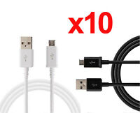 10x 3ft Micro USB Charger Charging Sync Data Cable For Galaxy Note HTC LG