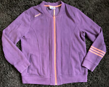 Ladies Adidas Originals Purple Jacket From The USA - Size XL 18/20 Coat Sports