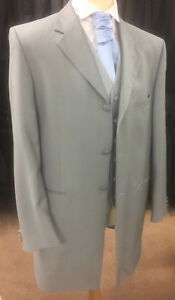 Torre Prince Edward Suit in Grey for Wedding