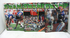 """Lot of 3 University of Florida Game Day Magazine """"Tales From The Swamp"""" 1996"""