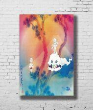 H-819 Kanye West /& Kid Cudi Kids See Ghosts Hot 2018 Music Wall Silk Poster