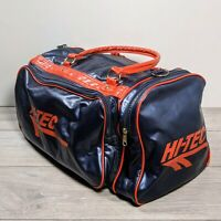 Retro Hi-Tec Blue Red Holdall duffel Gym Sports bag 50 x 29 x 24cms 90s vintage