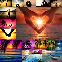 Sunset Scenery Full Drill DIY 5D Diamond Painting Embroidery Cross Stitch Kit