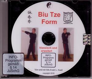 DVD  Die Wing Tsun Biu Tze Form klassisch Biu Tse