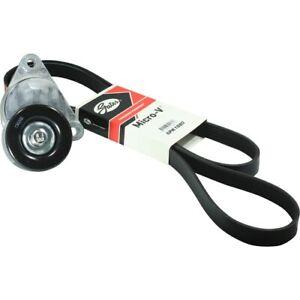 Fan Belt (Drive Belt) + Tensioner Kit for Holden Barina TK 1.6L F16D3
