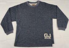 Rare VTG GUESS JEANS GJ Spell Out Crewneck Sweatshirt Sweater 90s Kids Size XL